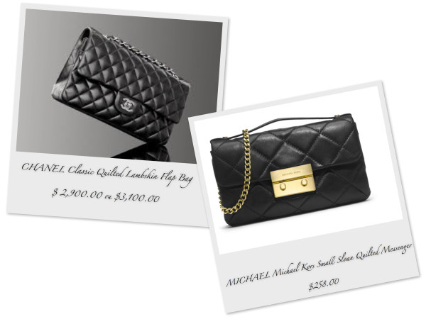 MKSloanQuiltedMessenger_VS_CHANELClassicQuilted