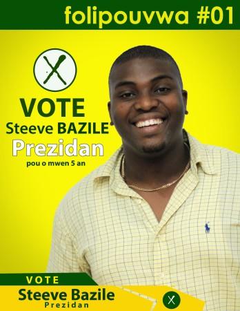 steeve b prezidan