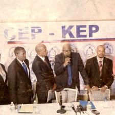 Le CEP est officiellement « Grenn Senk(5) »
