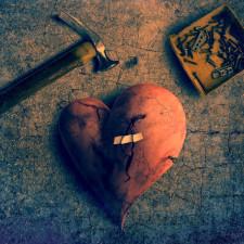 La fille au cœur brisé…