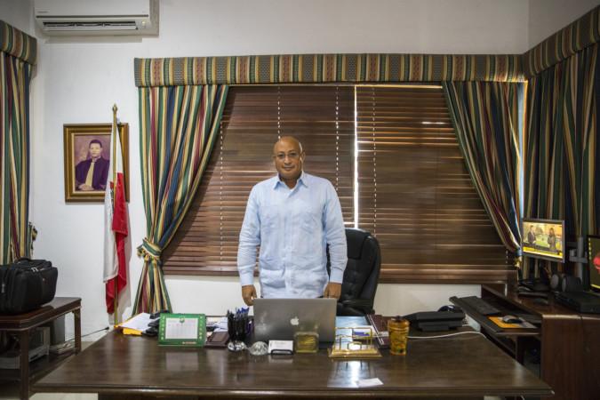 Salim Succar, consul honoraire de la Pologne en Haïti